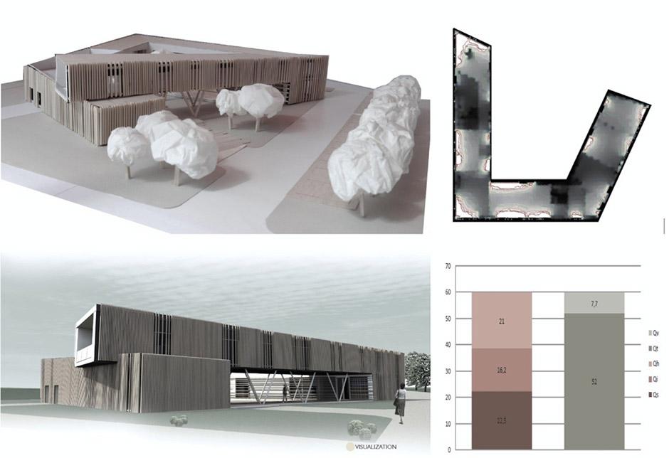 Example of multi-purpose building
